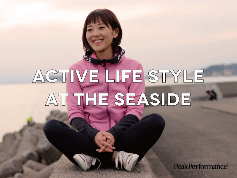 Active Lifestyle at the Seaside アクティブライフスタイルアットザシーサイド