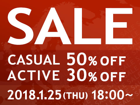 ★50%~30%OFF★ ウィンターセール第二弾開催!