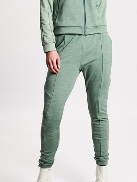 W Sculptured Track Pants(ZZN Glacier Green, S)