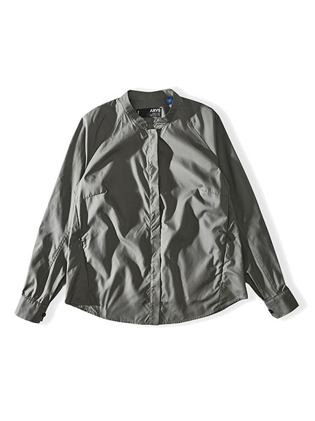 W Full Blown Blouse(ZZT Steel, M)