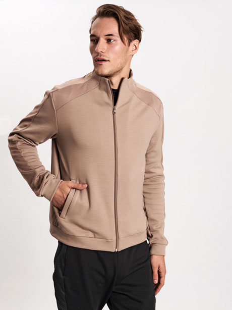 Sculptured Track Jacket
