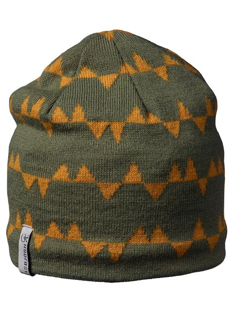 Hawk knitted cap