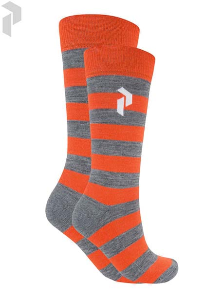 Play Ski Sock(82J Red Orange, 39-42)