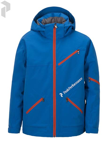 JR Pop Jacket(2X2 Hero Blue, 140)