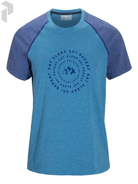 Track Tee(2X4 Blue Mountain, S)