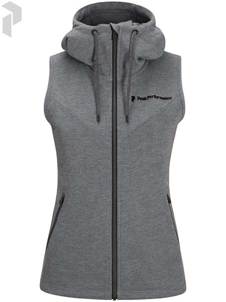 W Structure Hooded Vest