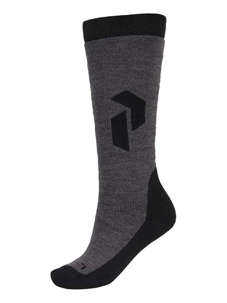 Warm Sock(M08 Grey Mel, 35-37)