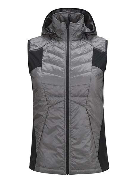 W Alum Vest(2AA Quiet Grey, S)