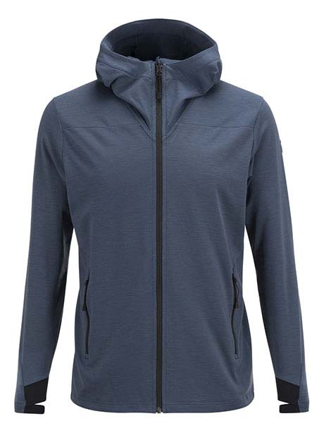 Civil Mid Hood(2Z8 Blue Steel, L)