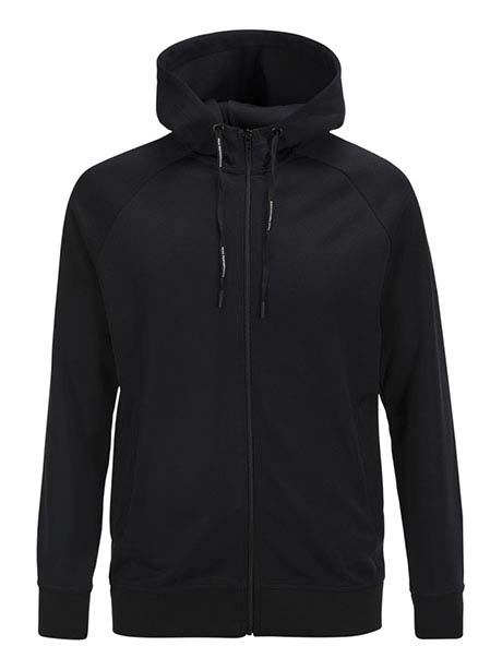 Tech Club Zip Hood(050 Black, M)