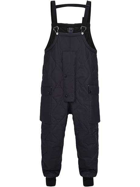 Quilted Naval Dungarees