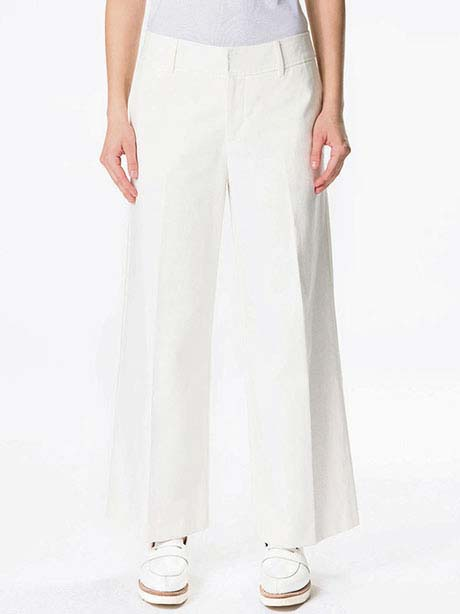 W Tailor Twill Pants(099 Offwhite, 36(S))