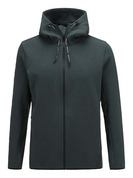 Tech Zip Hood(050 Black, S)