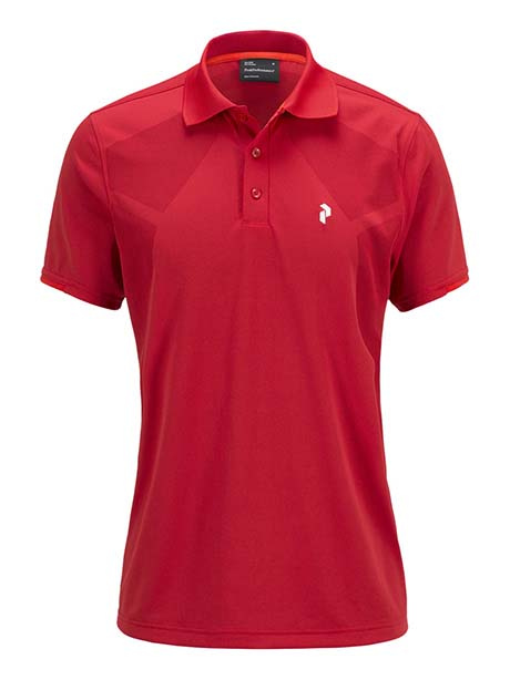 G Map Polo(5X3 Dark Chili, L)