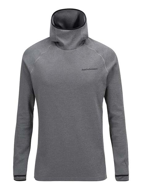 Power Hood(M08 Grey Mel, M)