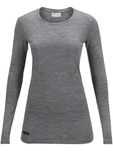 W Civil Merino LS Tee(M08 Grey Mel, XS)