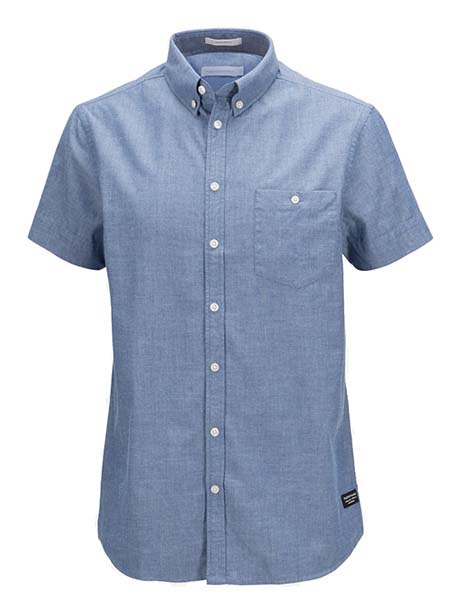 Luke SS Shirt(2N5 Dark Slate Blue, M)
