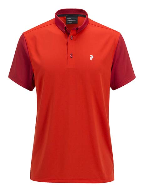 G Orb Polo(5BS Racing Red, L)