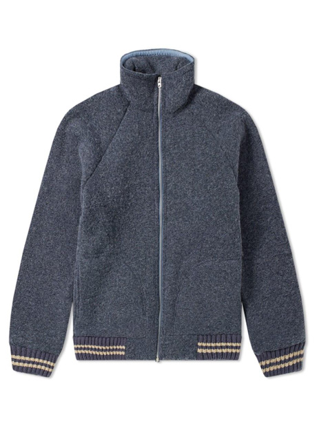 Wool Fleece Zipper