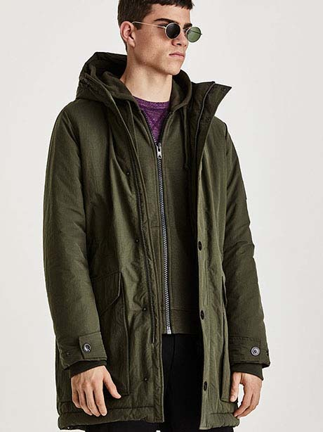 Typhon Jacket(4BT Forest Night, L)