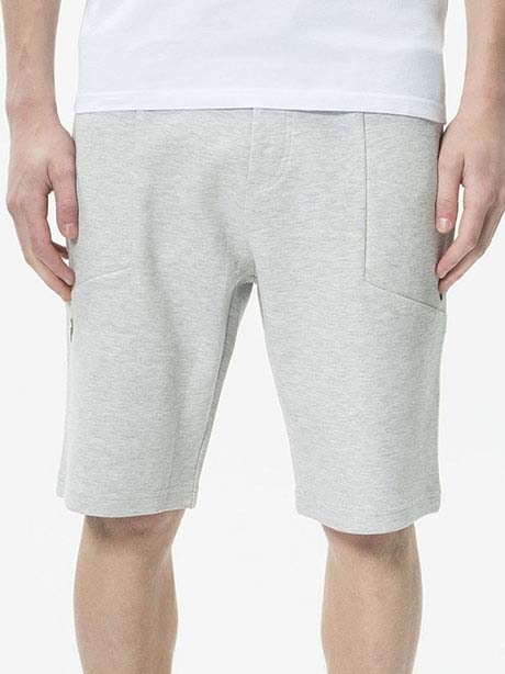 Tech Shorts(M03 Med Grey Mel, S)