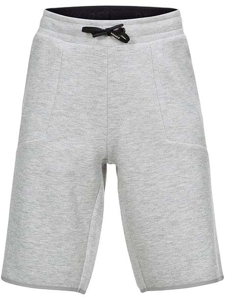 JR Tech Shorts(M03 Med Grey Mel, 150)