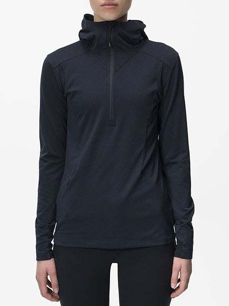 W Civil Mid Hood(2AC Salute Blue, L)