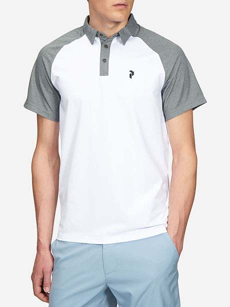 Grain Polo(089 White, L)