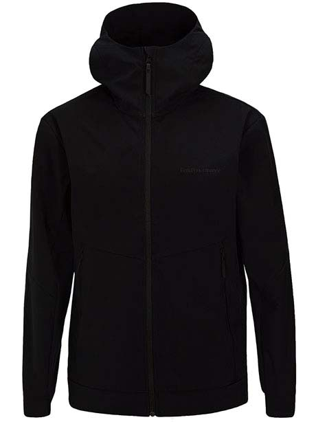 Adventure Hood Jacket(050 Black, M)