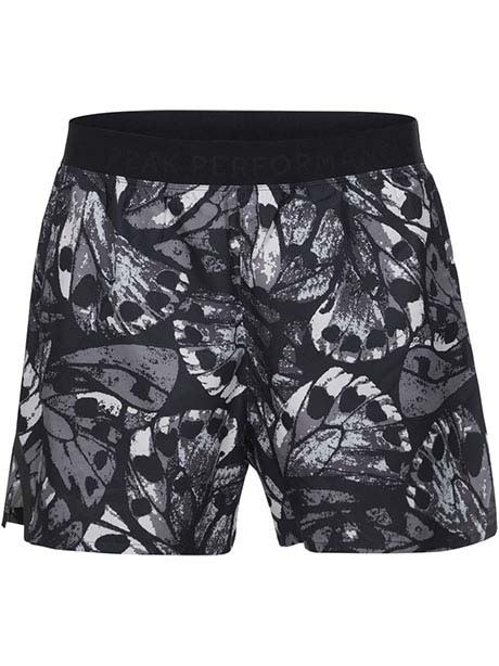 Work It Print Shorts(941S18 Multi Black Print, L)