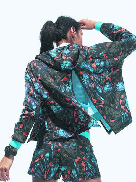 W Work It Print Jacket