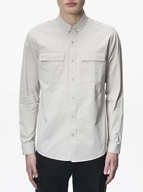 Dean Army Shirt(0BB Mortar Grey, M)