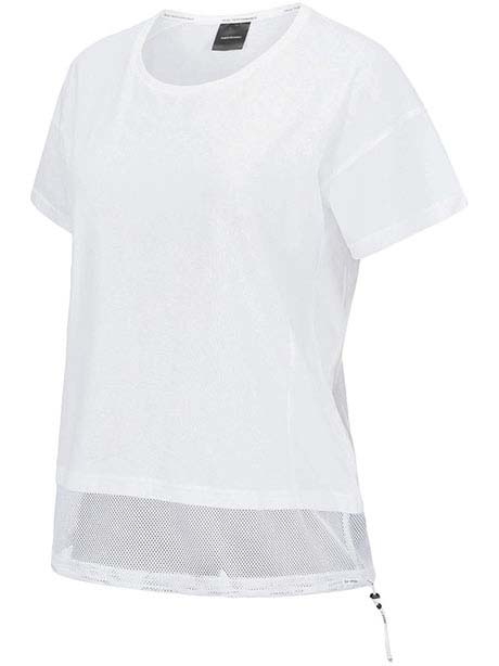 W Tech Drawstring Tee(089 White, S)
