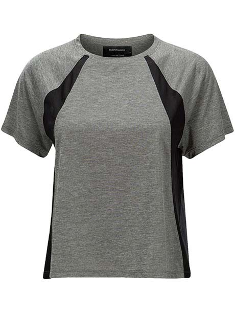 W Breathe Tee(M08 Grey Mel, L)