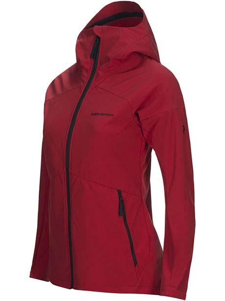 W Adventure Hood Jacket(5M3 Chilli Pepper, XS)