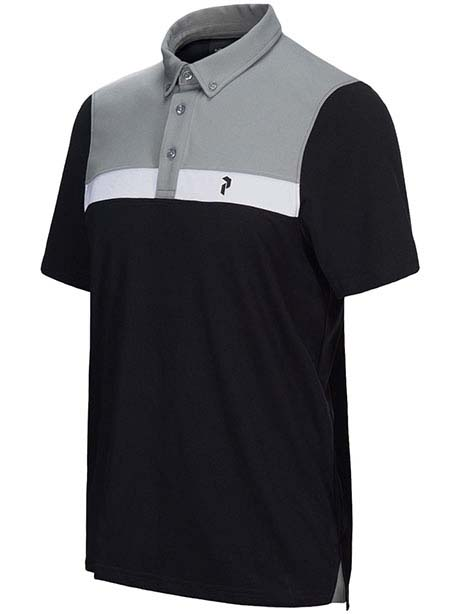 Panmore Button Down Polo(050 Black, L)