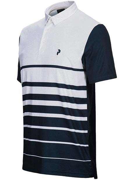 Bandon Print Polo(089 White, XL)