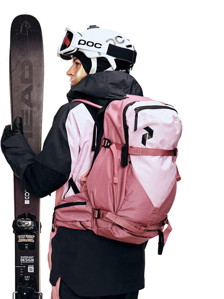 Vertical Ski Backpack S/M