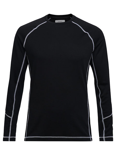 Ben Base Long Sleeve(050 Black, M)