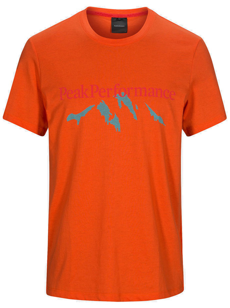 Explore Tee Mountain Print