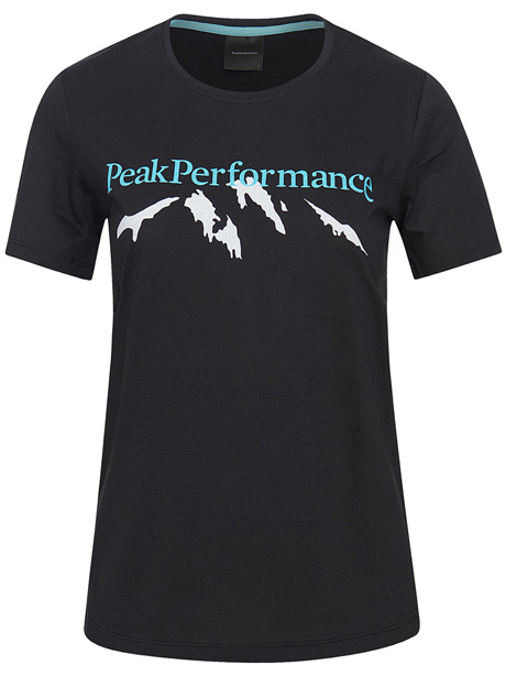 W Explore Tee Mountain Print