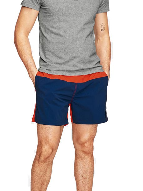 Swim Blocked Shorts