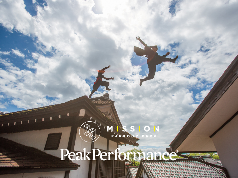 parkour academy  PeakPerformance × mission tokyo