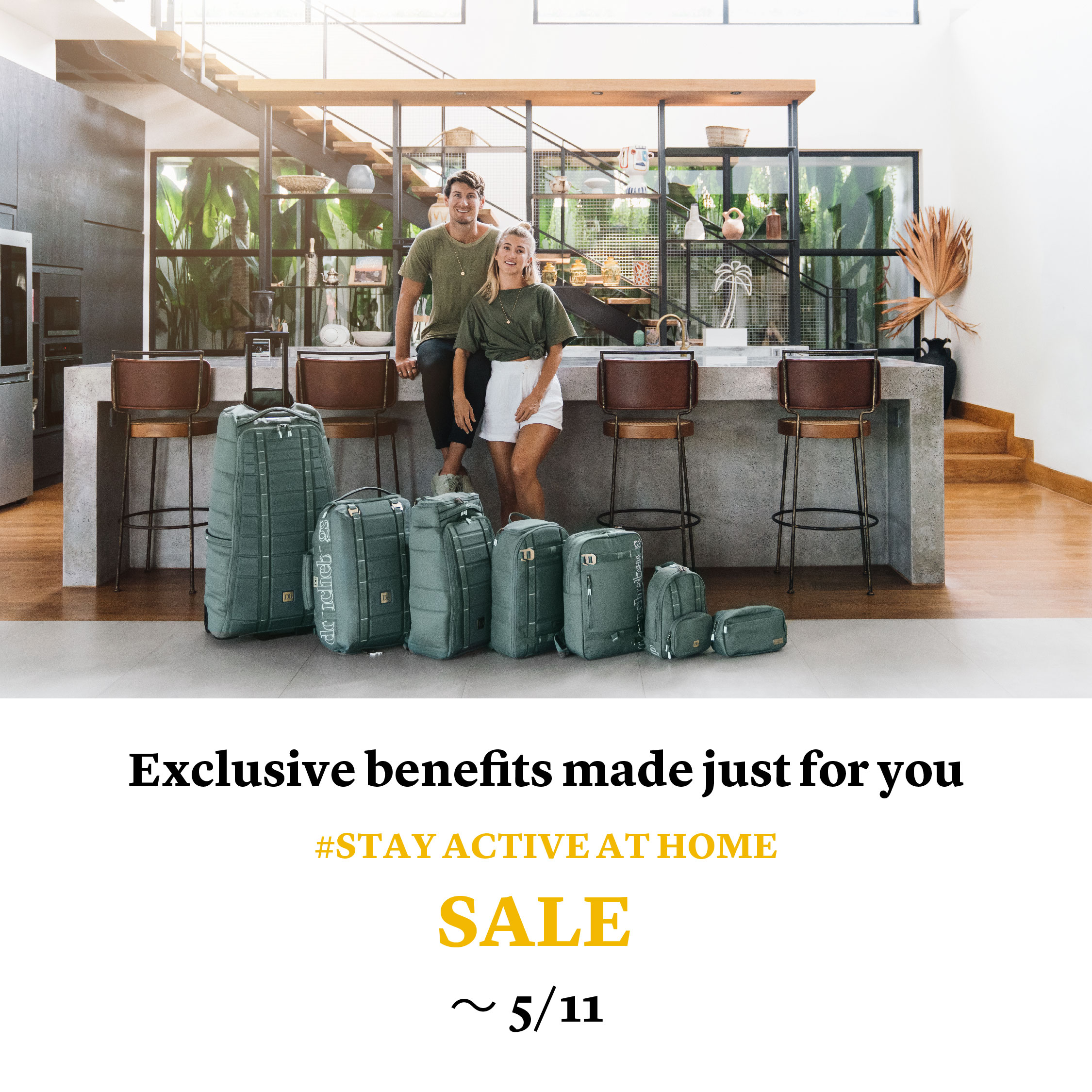 【SALE】# STAY ACTIVE AT HOME