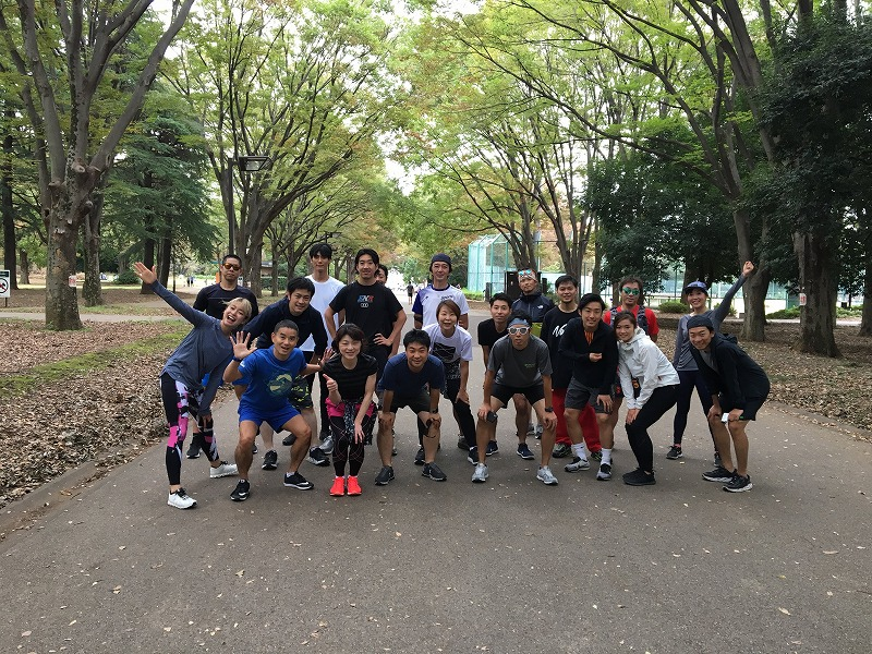 Futakotamagawa meet up Run Vol.2