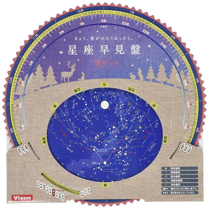 星座 早見 盤 使い方