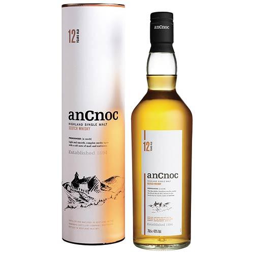 アンノック 12年(化粧箱付き) ウィスキー 700ml